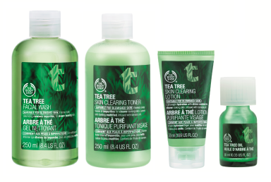 the-body-shop-tea-tree-facial-wash-toner-lotion-oil