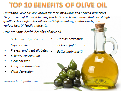 TOP 10 BENEFITS OF OLIVE OIL – The Life
