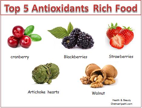 TOP 5 ANTIOXIDANTS RICH FOOD – The Life