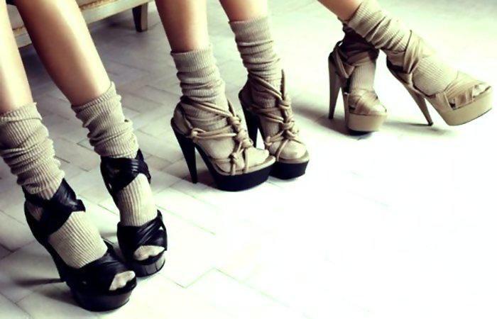 socks-and-heels