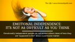 Emotional Independence