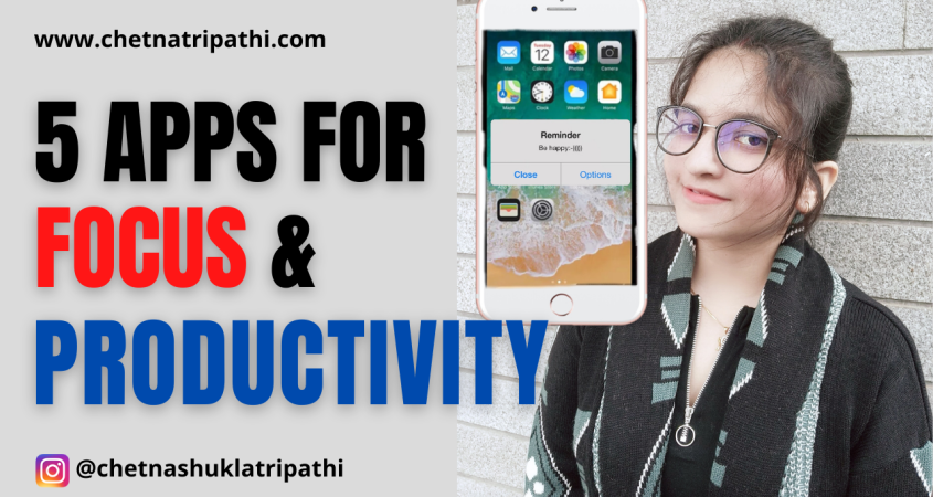 Must Have Apps For Focus & Productivity